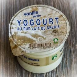 Yog. de brebis bio vanille...
