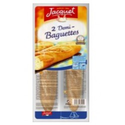 Jacquet baguette 2x150 g