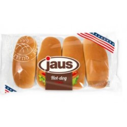 Jaus pain hot-dog 4 pc