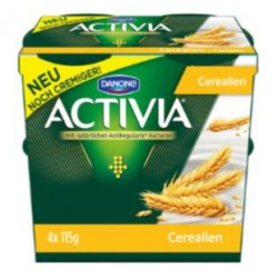 Activia céréales 4x250g