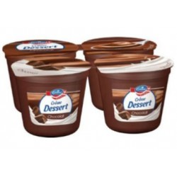 Emmi crème chocolat 4x125gr