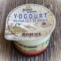 Yog. de brebis bio fraise...