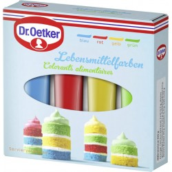 Dr oetker 4 colorants 40gr