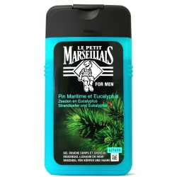 PM.douche pin/marine 250 ml
