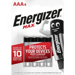 Energizer pile R3 AAA 4 pc