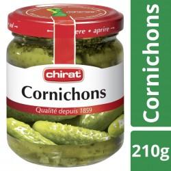 Chirat cornichons 1/4 210 g