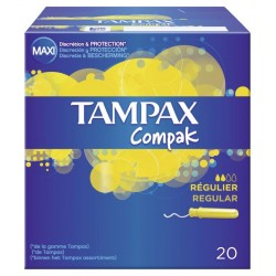 Tampax compak regular 20 pc