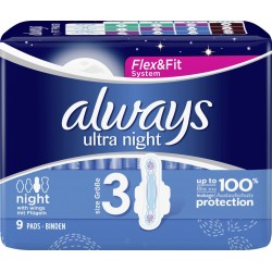 Always ultra night 9 pc