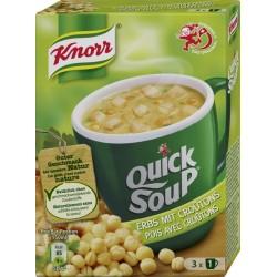 Knorr QSK pois croûtons 62 g