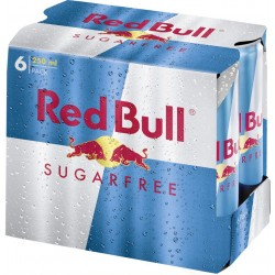 Red Bull Sugarfree 6x250 ml