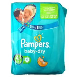 Pampers baby dry Maxi 41 pc 4+