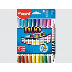 Feutres color'peps Duo 10 pcs