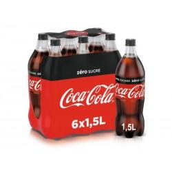 Coca-Cola zero 6x1.5 L