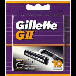 **Gillette lames GII 10 pc