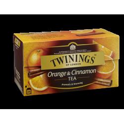 **twinings orange canelle...