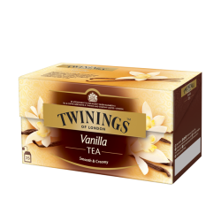 **twinings vanille 25pc