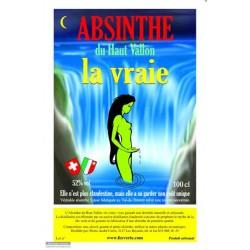 """absinthe """"la vrai"""" 1lt"""