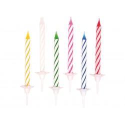 Bougies d'anniversaire 24 pc