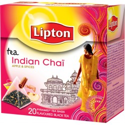 Lipton India Chai pyram. 20 pc