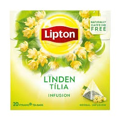 Lipton tilleul pyramid 20 pc