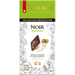 Villars noir noisettes 100gr