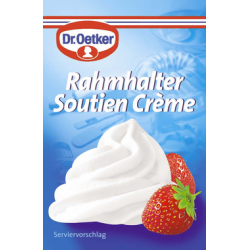 Dr Oetker soutien crème 3x8 g