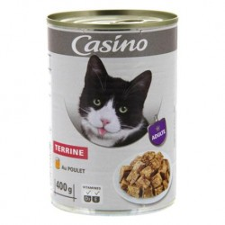 Casino chat terrine poulet...