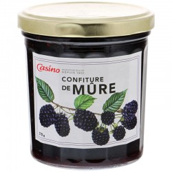 Casino confiture mûre 370gr