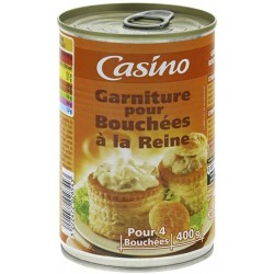 Casino farce vol au vent 400gr