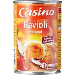 Casino ravioli boeuf 400gr