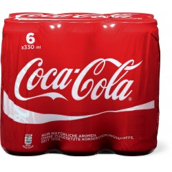 Coca-Cola boîte 6x33 cl