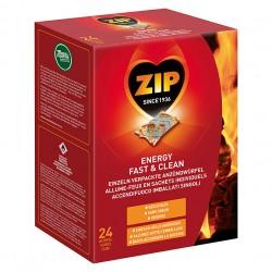 zip allume feu 24pc