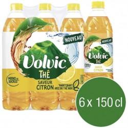 Volvic thé vert citron 6x1.5 L