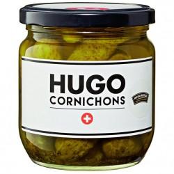Hugo cornichons suisses 380gr