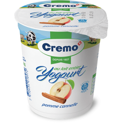 Yog. Cremo pomme cannelle...