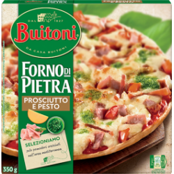 Pizza BFP  prosciutto e pesto