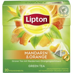Lipton Green mandarin 20 pc