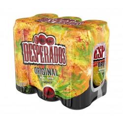 Desperados boîte 6X 50 cl