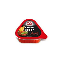 Zweifel chips dip hot 112gr